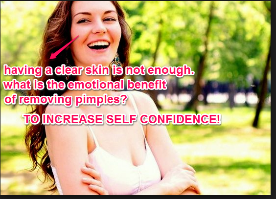 Increase self-confidence!