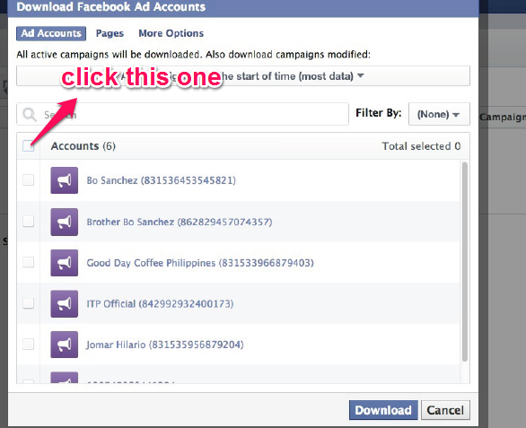 fb ads download
