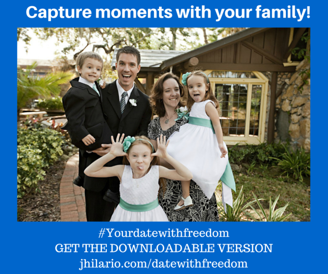 Capture moments with your family!