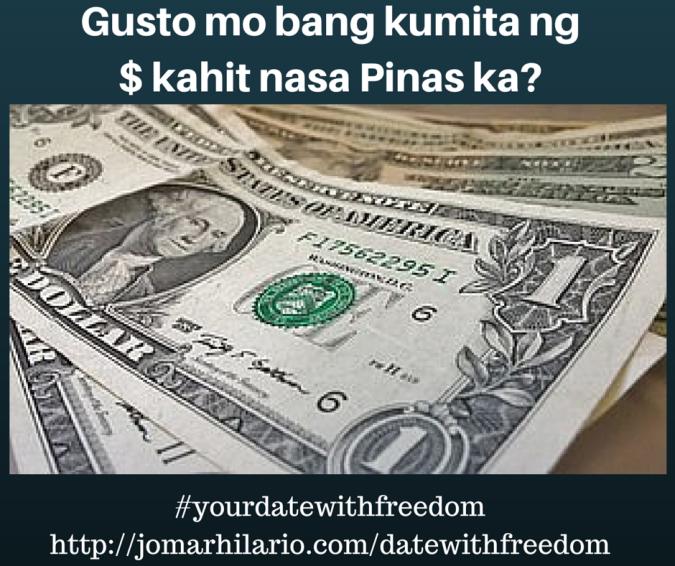 Gusto mo bang kumita ng $ kahit nasa (1)