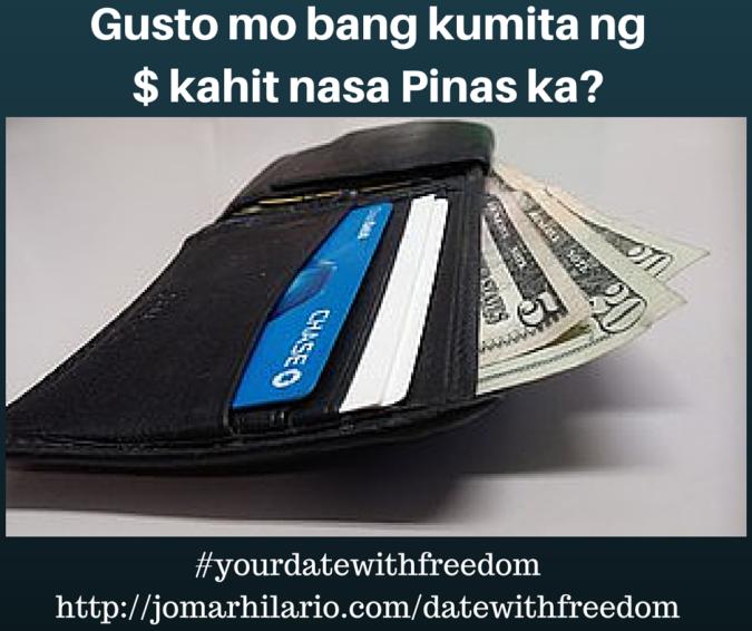 Gusto mo bang kumita ng $ kahit nasa (2)