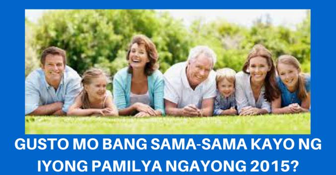 GUSTO MO BANG SAMA-SAMA KAYO NG IYONG
